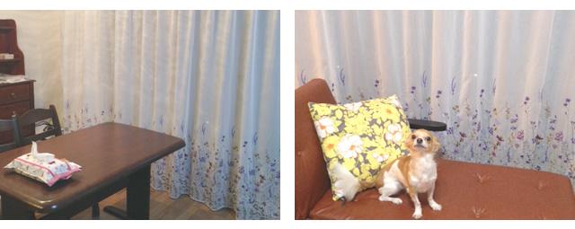 千葉県松戸市M様邸【アメリカンクラシック】のオーダーカーテンの施工例