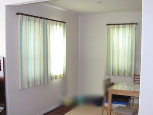 東京都世田谷区M様邸 ご新築の北欧モダンのオーダーカーテンの施工例