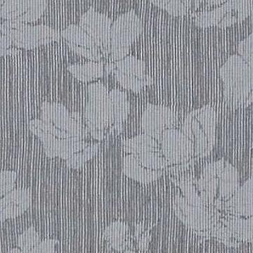 【イタリアン モダン】揺らぐ織の花柄のレースカーテン【ES-2063】グレー