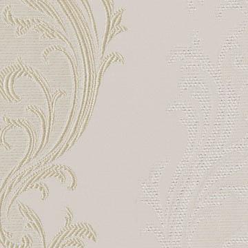 【クラシック モダン】サテンのクラシック柄のドレープカーテン&シェード【ES-2116】アイボリー