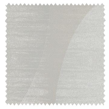 【北欧モダン】レトロな幾何学柄のドレープカーテン&シェード【HS-3012】グレーアイボリー