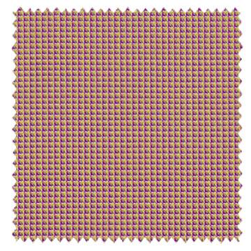【イタリアン モダン】角度によって色が変わるドレープカーテン&シェード【HS-3013】マゼンタ&イエロー