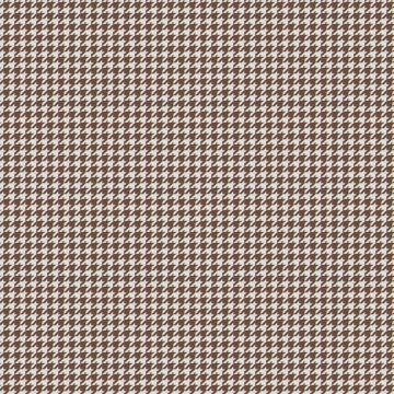 【イタリアン モダン】千鳥格子のドレープカーテン&シェード【HS-3182】ブラウン