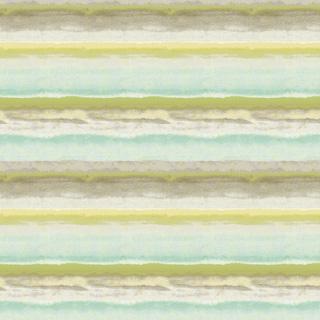 【北欧 モダン】美しい色彩のジャガード織のボーダーのドレープカーテン&シェード【HS-4001】グリーン