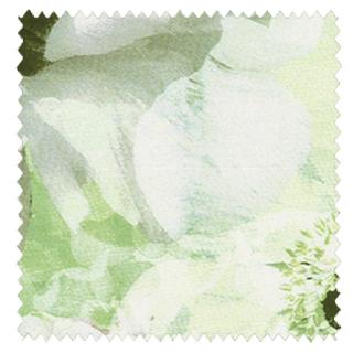 【フレンチ シック】美しいフラワーボックスのデザインのドレープカーテン&シェード【HS-4159】イエローグリーン