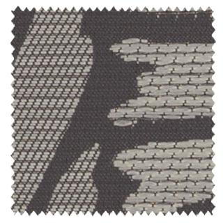 【和モダン】変わり立涌と菊松葉の遮光カーテン&シェード【IS-53095】灰色