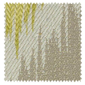 【エスニック ビンテージ】ネイティヴなイカット柄のドレープカーテン【ELX-8032】イエローベージュ