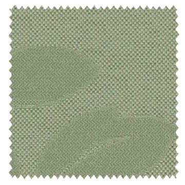 【ナチュラル ビンテージ】サラッとした葉(リーフ)織柄のドレープカーテン【LX-8038】グリーン