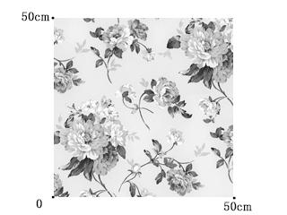 【アメリカン クラシック】サテン生地の花柄プリントのドレープカーテン【LX-8128、LX-8129、LX-8130】
