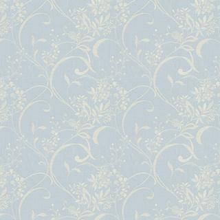 【フレンチ シック】フワっとしたエアリー感と透明感のドレープカーテン【LX-8142】ペールブルー