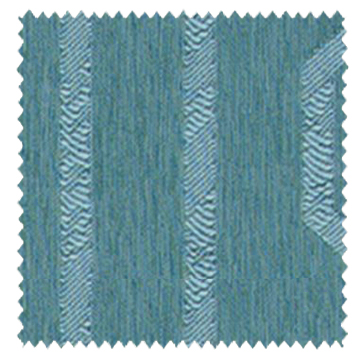 【ミッドセンチュリー】光沢のジオメトリックの遮光カーテン【LX-8321】セルリアンブルー