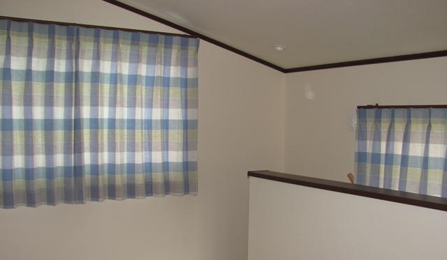 所沢市J様邸のロフト【北欧ナチュラル】のオーダーカーテンのコーディネート