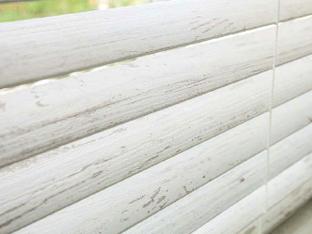 【アメリカン・クラシック】木の手触りと風合いを表現した木製ブラインド【NX-0821】アンティークホワイト