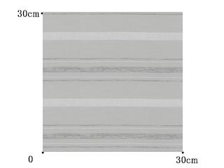 【シンプル モダン】シルバー・ボーダーの遮光カーテン&シェード【RC-7164】ライトグレー