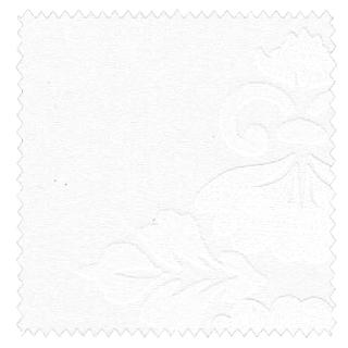 【クラシック・モダン】美しいクラシック柄のラッカー・プリントのレースカーテン&シェード【RX-4033】ホワイト&ホワイト
