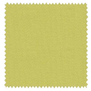 【ナチュラル】コットン(綿)100%の無地のドレープカーテン&シェード【RX-6115】イエローグリーン