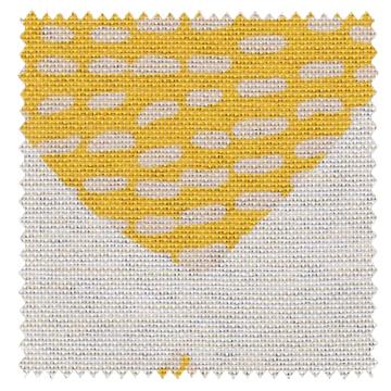 【北欧モダン】やさしい幾何学柄プリントの遮光カーテン&シェード【RX-A920】イエロー