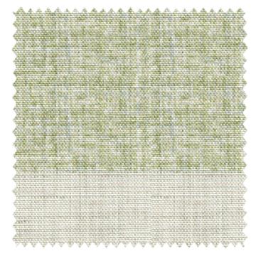 【ナチュラルモダン】擦れたボーダー柄のドレープカーテン【RX-A926】グリーン