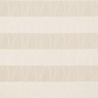 【ナチュラル モダン】波形ストライプとボーダーのドレープカーテン&シェード【SC-0117】ベージュ