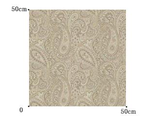 【クラシック モダン】トラッド(伝統的な)ペイズリー柄のドレープカーテン&シェード【SC-0229】ベージュ&アイボリー