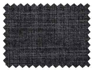 【シンプルモダン】シャープな無地の遮光カーテン【UX-3375】ブラック&シルバー