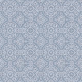 【クラシック モダン】モロッコタイルのクラシック文様のドレープカーテン&シェード【UX-5362】ライトブルー
