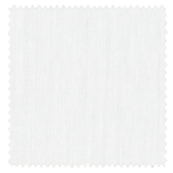 【ウェーブロン】コットン調の透け難いレースカーテン【IS-53541】ホワイト