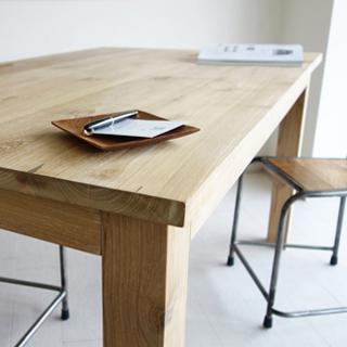 チークダイニングテーブルLIN150cm
